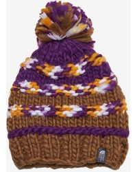 The North Face - Bigsby Pom Pom Beanie - Lyst