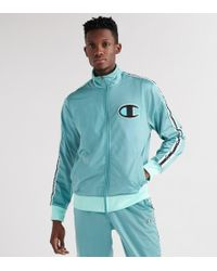 Champion New Taping Track Jacket - Green