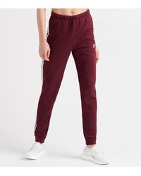 adidas Regular Cuff Trousers - Red