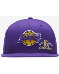 KTZ Lakers Titles Snapback - Purple