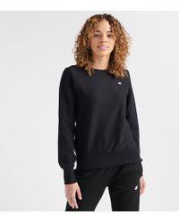 Champion - Reverse Weave Crew Sweatshirt C Logo - Lyst