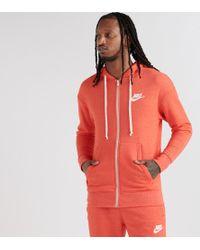 825a7511cbf6 Lyst - Nike Tech Fleece Aw77 1.0 Full-zip Hoodie in Black for Men