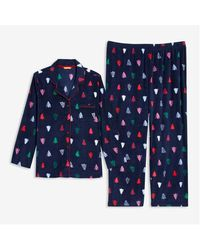 Joe Fresh Women+ 2 Piece Fleece Sleep Set - Blue