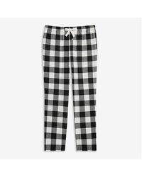 Joe Fresh Plaid Flannel Sleep Pants - Multicolour