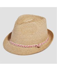 Joe Fresh - Braided Straw Hat - Lyst