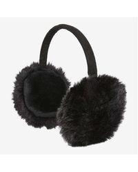 Joe Fresh Faux Fur Ear Muffs - Black