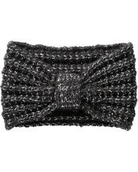 Joe Fresh Metallic Knit Headband - Black