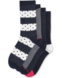 Joe Fresh - 4 Pack Dot Print Socks - Lyst