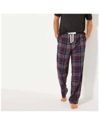 Joe Fresh Plaid Flannel Sleep Pants - Blue