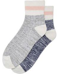 Joe Fresh - 2 Pack Boot Socks - Lyst