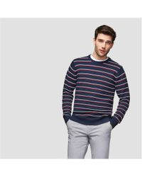 Joe Fresh - Men's Long Sleeve Stripe Sweater - Lyst