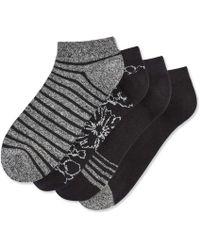 Joe Fresh - 4 Pack Print Socks - Lyst