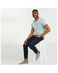 Joe Fresh Essential Stripe Tee - Blue