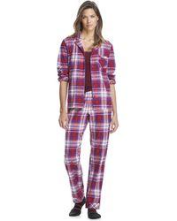 Joe Fresh - Flannel Sleep Set - Lyst