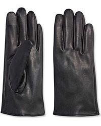 Joe Fresh - Faux Leather Gloves - Lyst
