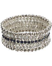 Joe Fresh - Crystal Statement Bracelet - Lyst
