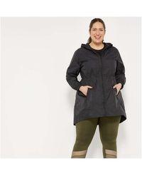 Joe Fresh Women+ Nylon Active Raincoat - Black