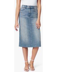 Joe's Jeans The A-line Skirt - Blue