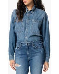 Joe's Jeans Button - Down Denim Shirt - Blue
