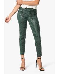 Joe's Jeans The High Rise Cigarette - Green