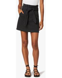 Joe's Jeans The Calypso Denim Skirt - Black