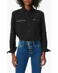 Joe's Jeans Zip Pocket Shirt - Black