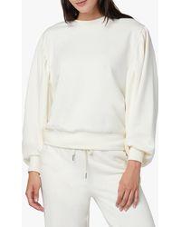 Joe's Jeans Olwyn Puff Sleeve Sweatshirt - White