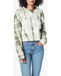 Joe's Jeans The Tie Dye Cropped Sweatshirt - Multicolour