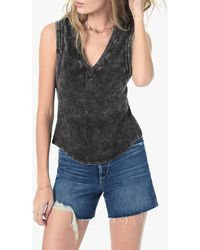 Joe's Jeans Gwen Sleeveless Tee - Black