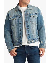 Joe's Jeans Trucker Denim Jacket - Blue