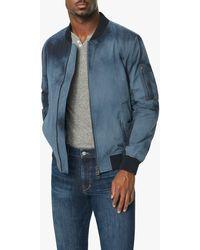Joe's Jeans Bomber Jacket - Blue