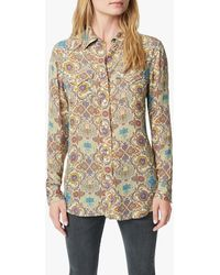 Joe's Jeans Brocade Buttondown Shirt - Multicolour