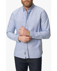 Joe's Jeans Oxford Button Down - Blue