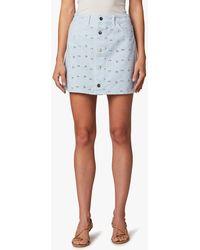 Joe's Jeans Millie Mini Skirt - Multicolour