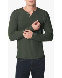 Joe's Jeans Wintz L/s Slub Henley - Green