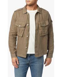 Joe's Jeans Linen Military Jacket - Multicolour