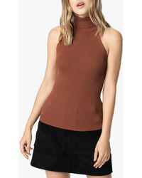 Joe's Jeans Halterneck Jumper - Brown