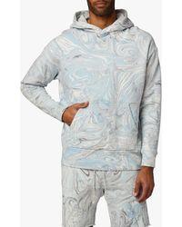 Joe's Jeans Marble Dye French Terry Fleece Hoodie - Multicolour