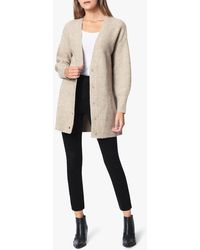Joe's Jeans Recycled Knit Cardigan - Natural