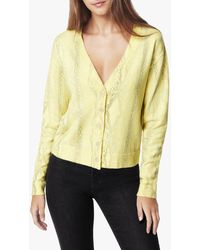 Joe's Jeans The Cropped Cardigan - Yellow