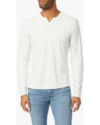 Joe's Jeans Wintz L/s Henley - White