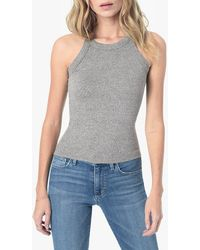 Joe's Jeans Haleigh Halter Tank - Gray