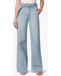 Joe's Jeans The Belted Wide Leg - Blue