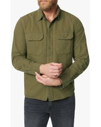Joe's Jeans Button Down With Pockets - Green