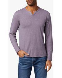 Joe's Jeans Wintz L/s Henley - Purple
