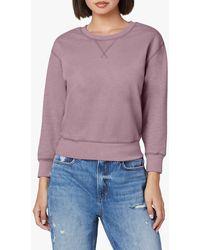Joe's Jeans Ava Triblend Sweatshirt - Purple