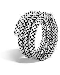 John Hardy - Triple Coil Bracelet - Lyst