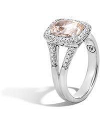 John Hardy - Magic Cut Ring With Rutilated Topaz And Diamonds - Lyst