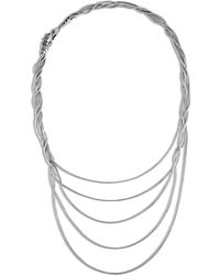 John Hardy - Naga Multi Row Necklace With Black Sapphire, Black Spinel - Lyst