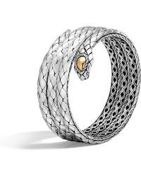 John Hardy - Cobra Triple Coil Bracelet - Lyst
